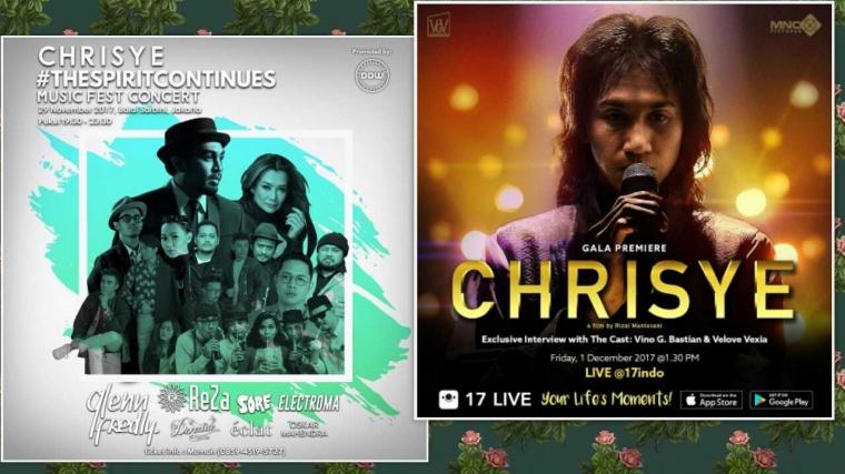 "Jelang Peluncuran Film Chrisye, Tagar ""Chrisye"" Ramai di Seluruh Sosial Media"