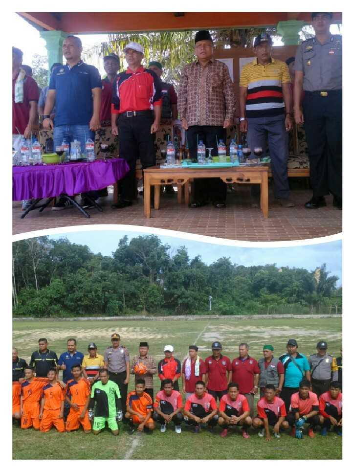 Bupati Buka Liga Bangka APDESI Champion SIP