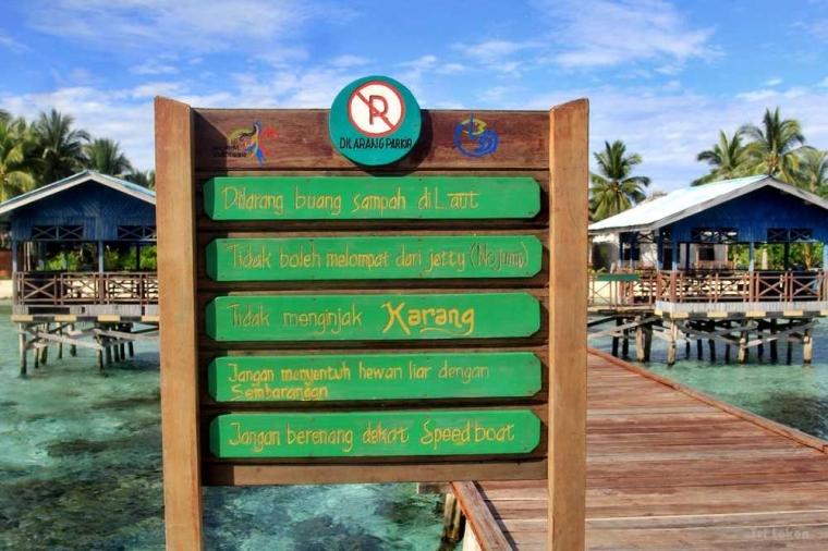 Warga Arborek Raja Ampat Menjaga Laut agar Bebas Sampah