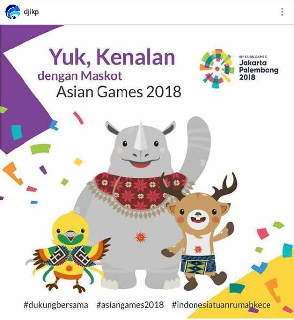 Sepucuk Surat untuk Anak Bangsa, Bangga dan Optimislah di Asian Games 2018