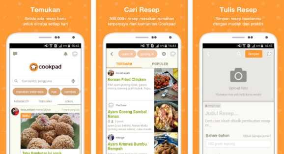 Download 3 Aplikasi Resep Masakan Ini Biar Kamu Jago Masak