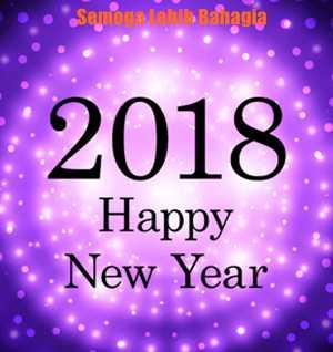Gambar DP BBM Ucapan Selamat Tahun Baru 2018