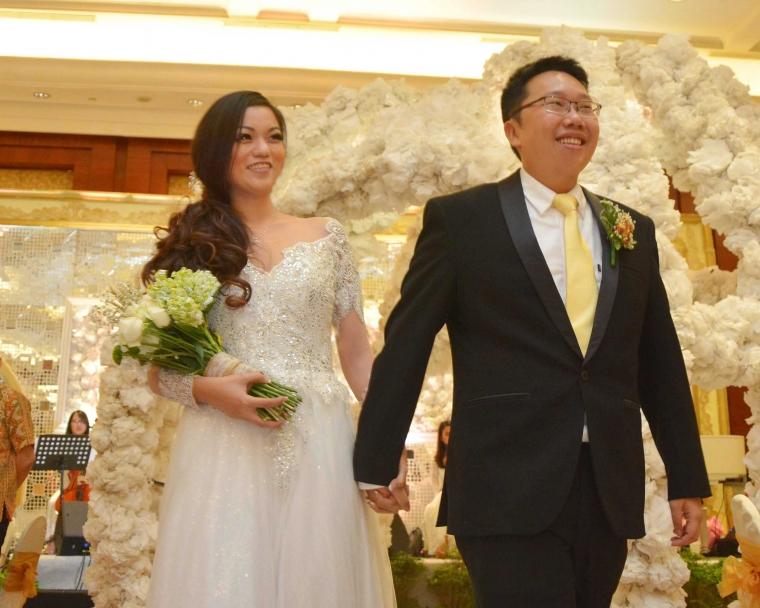 DJ Seksi, Yustin Arlette Nikahi Pria Anak Mantan Gubernur Taiwan