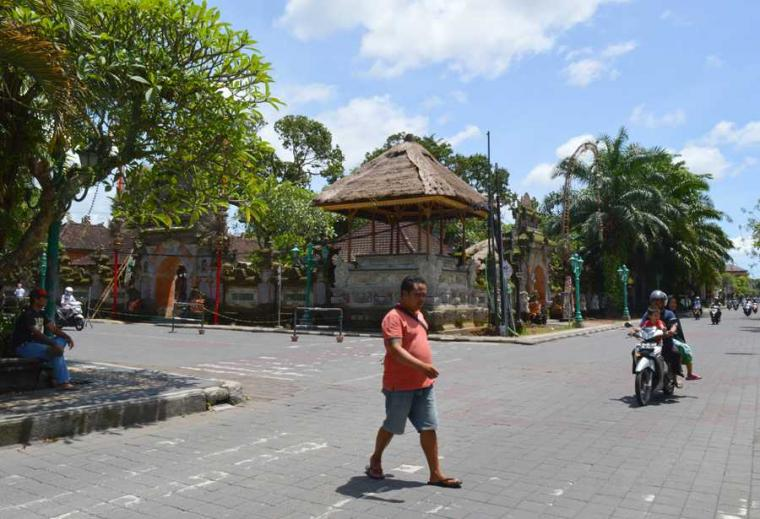 Dampak Erupsi Gunung Agung, Ubud Lengang Mirip Kuburan di Siang Bolong