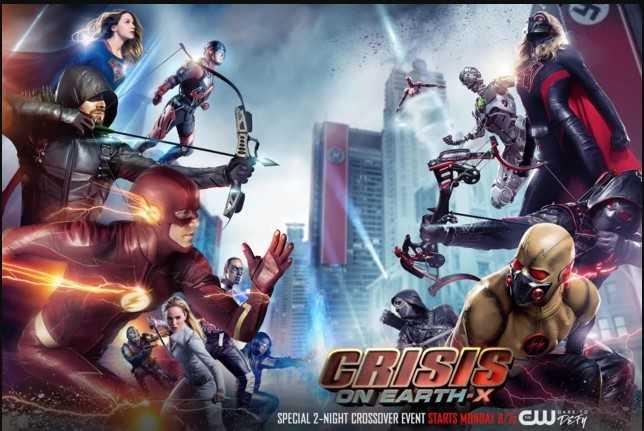 "Resensi Serial TV  ""Crisis on Earth-X; Superhero vs Nazi"""