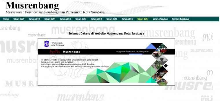 e-Musrenbang Surabaya: Masih Jauh dari Harapan?