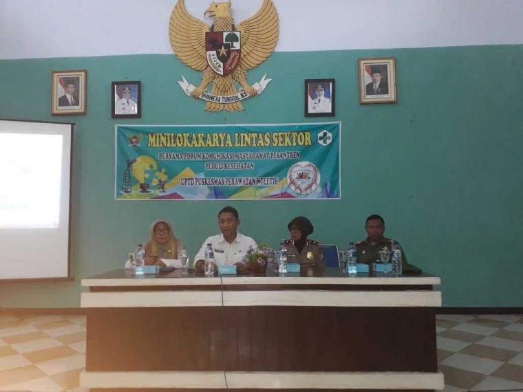 Mini Lokakarya Lintas Sektor bersama FKM PK Pesantren