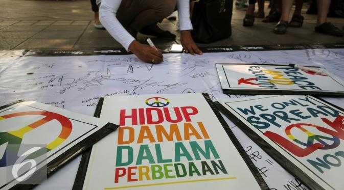 Generasi Milenial Kedepankan Perdamaian, Bukan Permusuhan
