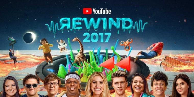 "Pesta Lendir di ""YouTube Rewind"" 2017"
