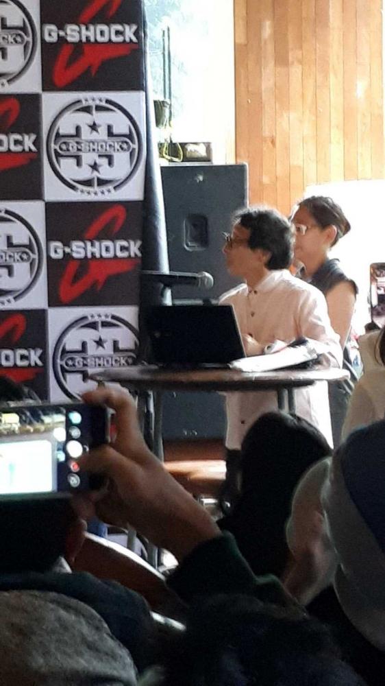 "G-Shock, Karya ""Never Give Up"" dan Kehidupanku"
