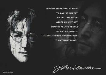 John Lennon Spirit Agama Dan Perdamaian Dunia Halaman All