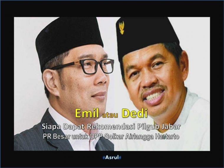 Dedi Mulyadi Bisa Kalahkan Ridwan Kamil