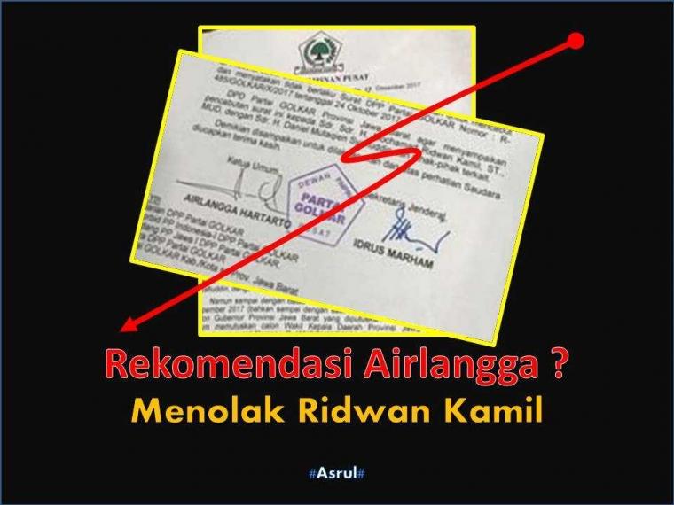 Tidak Etis Pencabutan Rekomendasi Ridwan Kamil