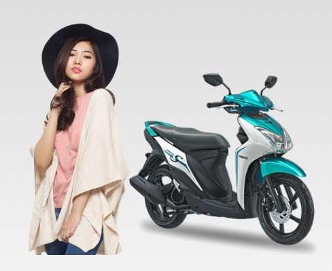 Sepeda Motor Pilihan Emak Aktif