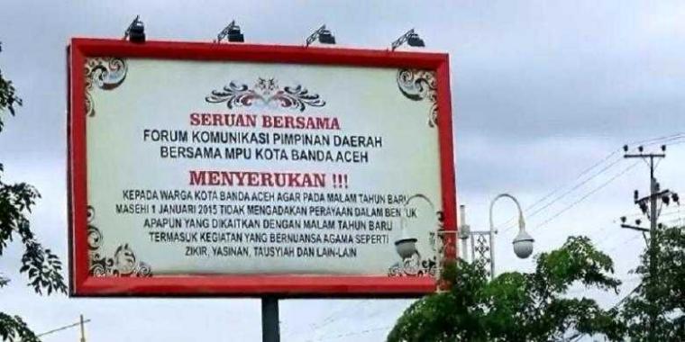 Suasana Aceh di Ujung Tahun