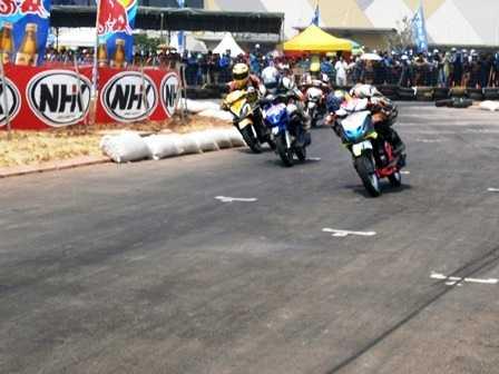 Road Race Hadir di Area Milik Amin Supriyadi