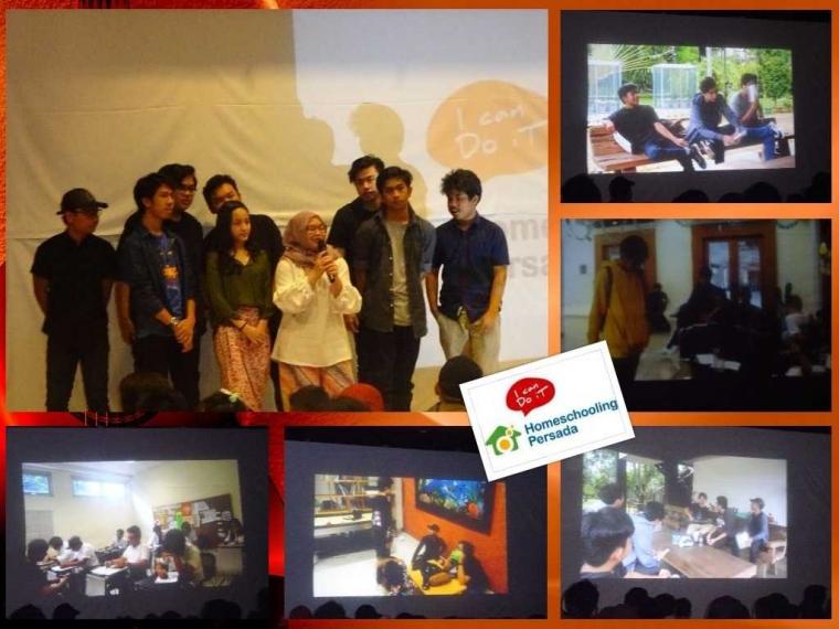 Tim Shaalataya dan cuplikan karyanya (dok RBP/Homeschooling Persada)