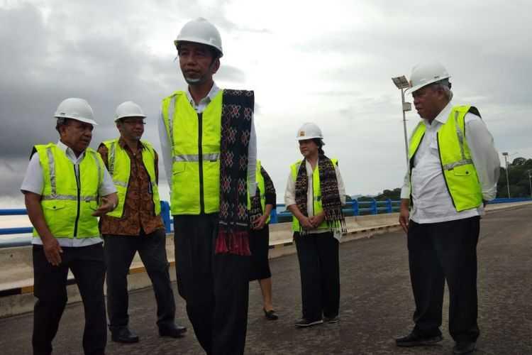 Jokowi Resmikan Bendungan Pertama dari 49 yang Direncanakan di Indonesia