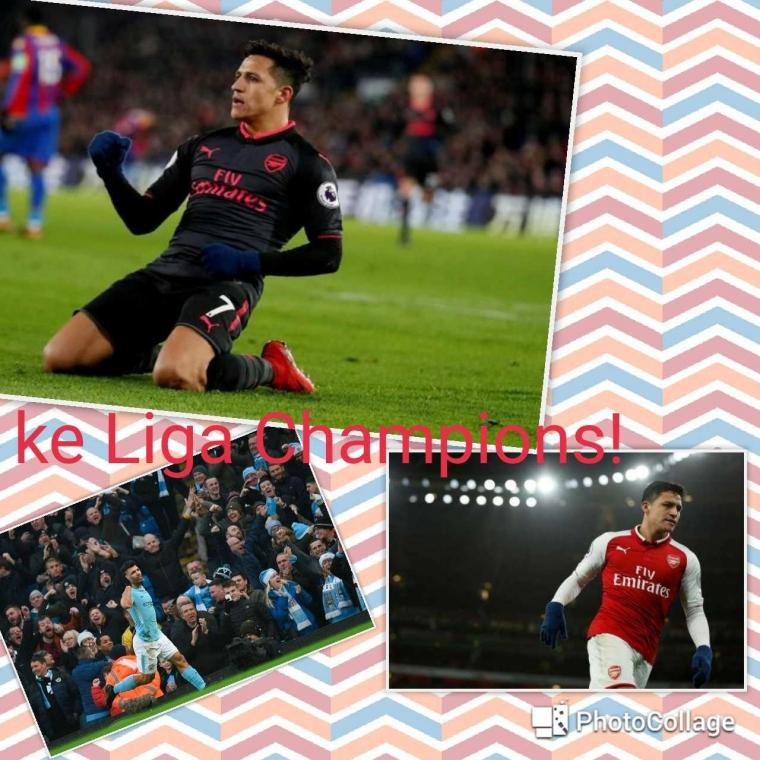 Alexis Sanchez Pindah City Pengin ke Liga Champions