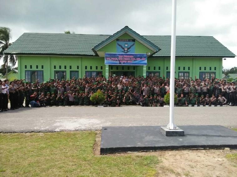Sinergitas TNI-Polri dan Pemda Kepulauan Jaga Kondisi Wilayah Tetap Kondusif