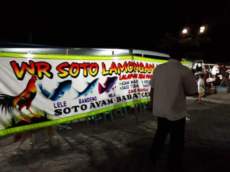 """Ada """"Seafood Lamongan"""" di Kabupaten Berbasis Suku Dayak"""