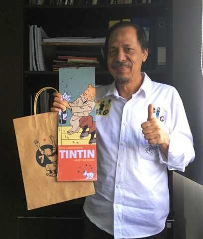 10 Januari Hari Tintin