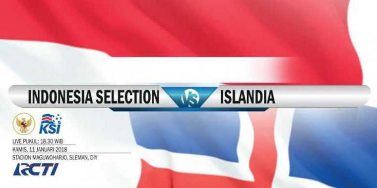 Islandia Taklukkan Indonesia Selection 6-0