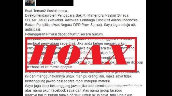 Informasi Hoaks dari Portal Mediaoposisi.com