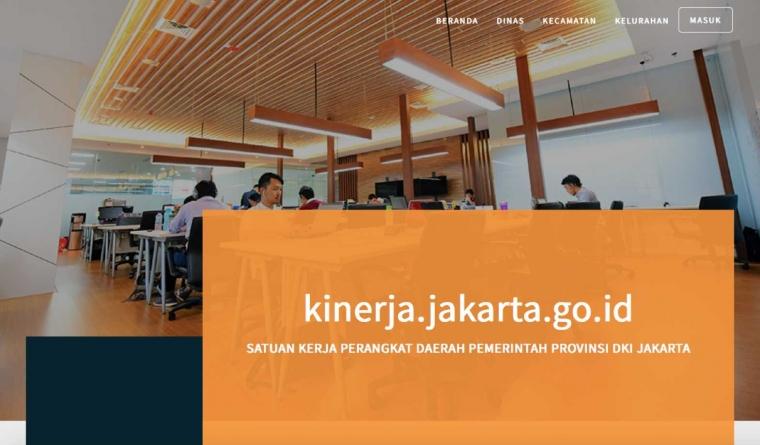 Canggihnya Penilaian Camat dan Lurah di Jakarta
