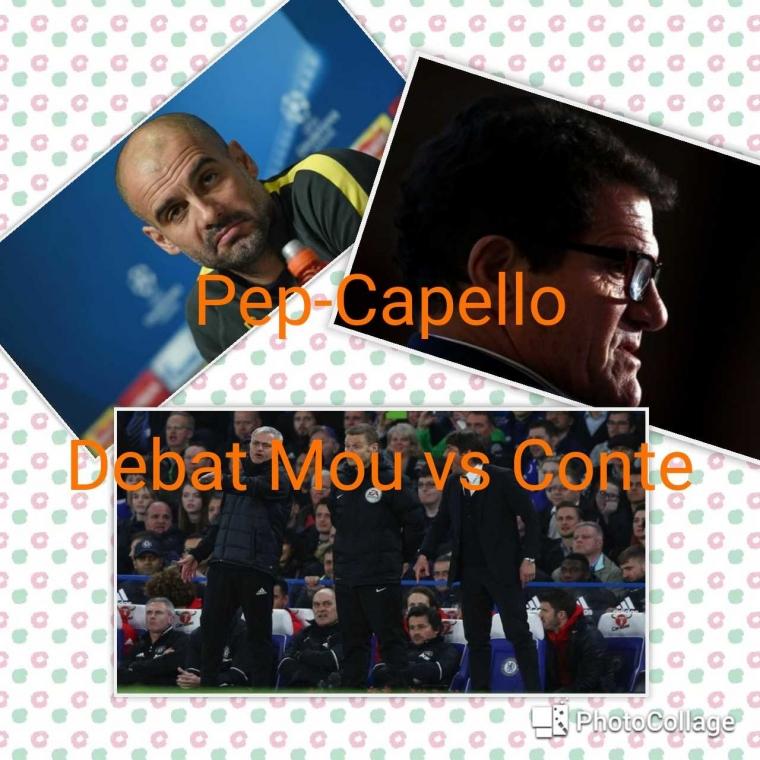 Beda Pep dengan Capello, Soal Mou-Conte
