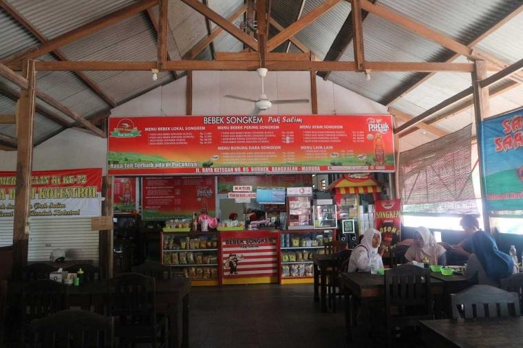 Bebek Songkem Pak Salim, Kuliner Bebek yang Maknyus dan Bebas Kolesterol