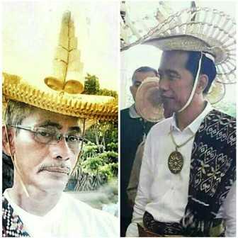 Ti'i Langga dan Presiden Joko Widodo sebagai Manaleo Nusa Lote