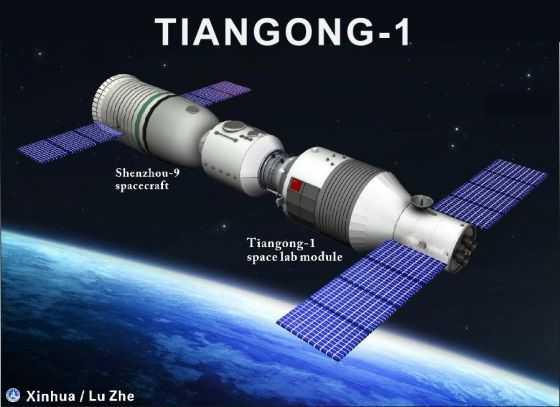 Maret 2018 Diprediksikan Bangkai Stasiun Luar Angkasa Cina Jatuh ke Bumi