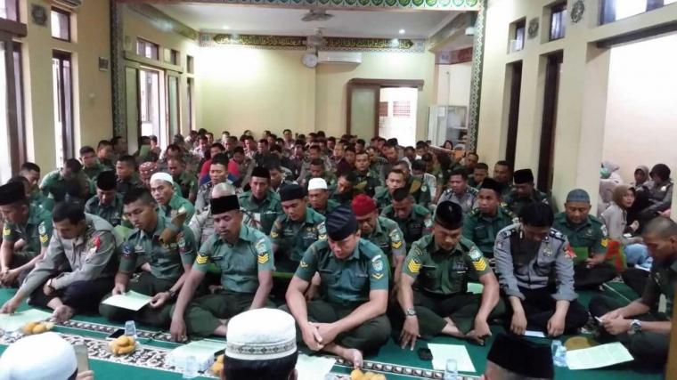 TNI/Polri Doa Bersama untuk Suksesnya Pilkada Serentak 2018