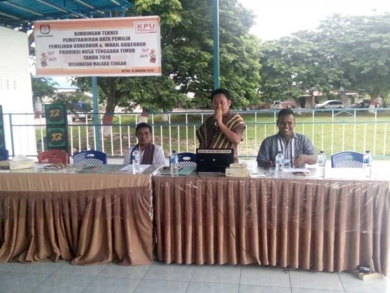KPU Malaka Laksanakan Bimtek