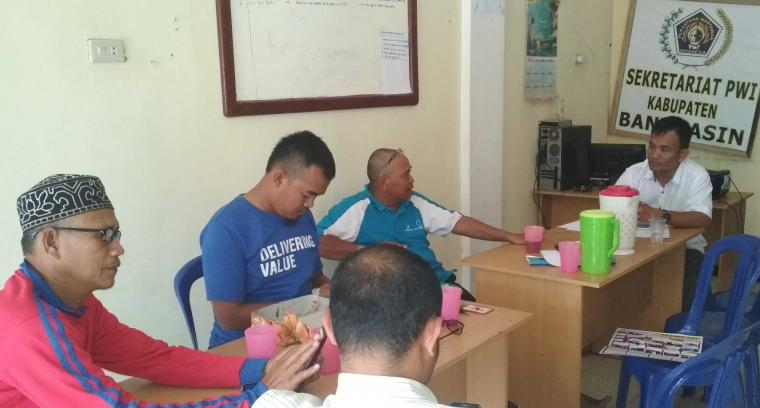 PWI Banyuasin Kompak Menghadiri HPN Di Padang