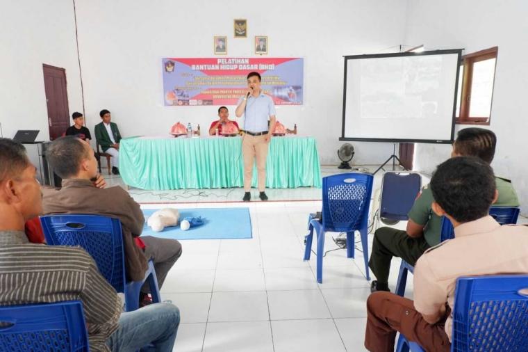 Mahasiswa Ners FKM UMI Gelar Pelatihan Bantuan Hidup Dasar pada Masyarakat Galut