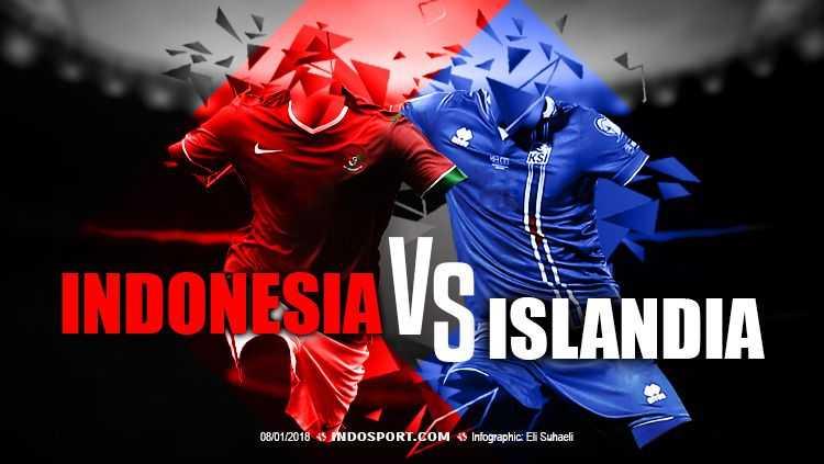 Timnas Indonesia vs Timnas Islandia Berlaga di Stadion Utama GBK