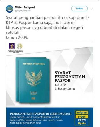 Perpanjang Paspor Bagi Yang Berdomisili Di Luar Jakarta