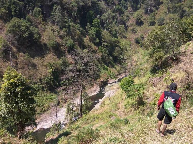 Air Terjun Triban, Secuil Nirwana di Balik Bukit