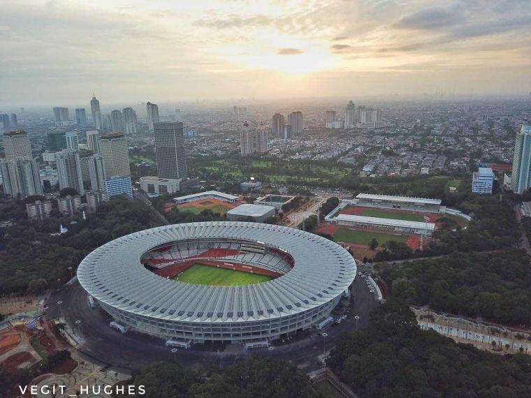 Stadion Utama Gelora Bung Karno, Saksi Sejarah yang Kian Megah