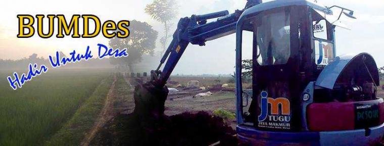 BUMDes Di Indramayu ini Jalankan Usaha Rental Excavator