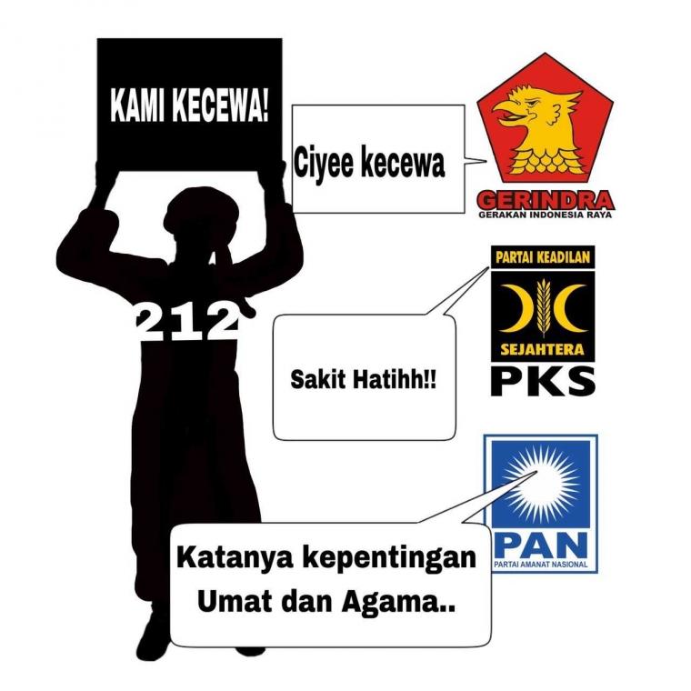 Surat Terbuka Presidium Alumni 212 Terkait Pilkada 2018, Bentuk Kepanikan atau Menutupi Kebusukan?