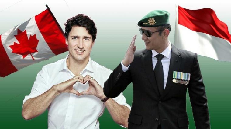 Menyandingkan AHY dengan Justin Trudeau