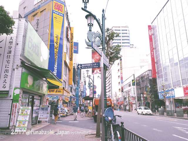 Beranjak ke Kota Funabashi