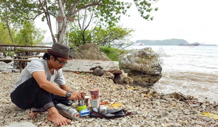 Menikmati Sungai Amazon di Pantai Tua Lampung Selatan