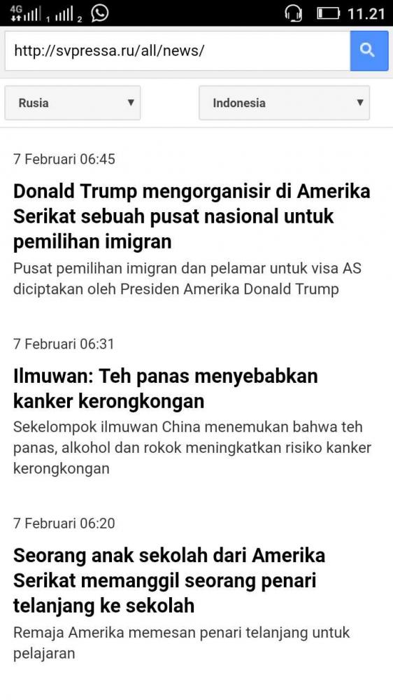 Cara Membaca Berita Rusia dalam Bahasa Indonesia