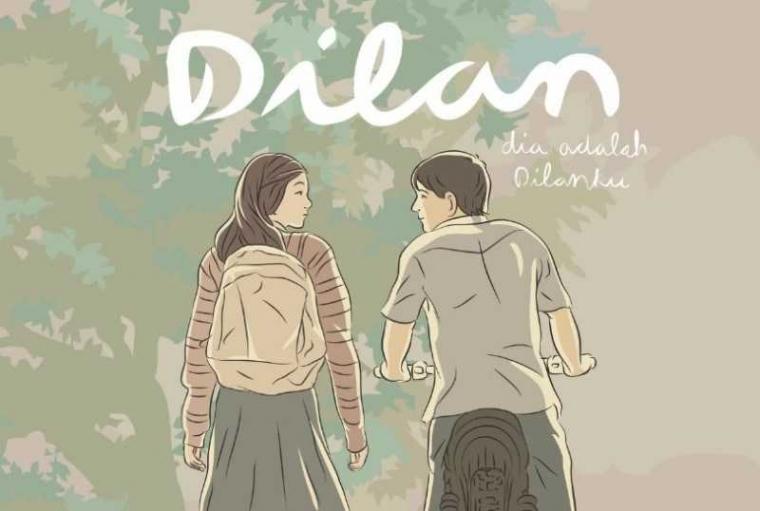 Inikah Kejanggalan di Novel Dilan?