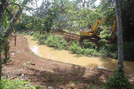 Perubahan Bentuk Sungai, Berdampak Banjir
