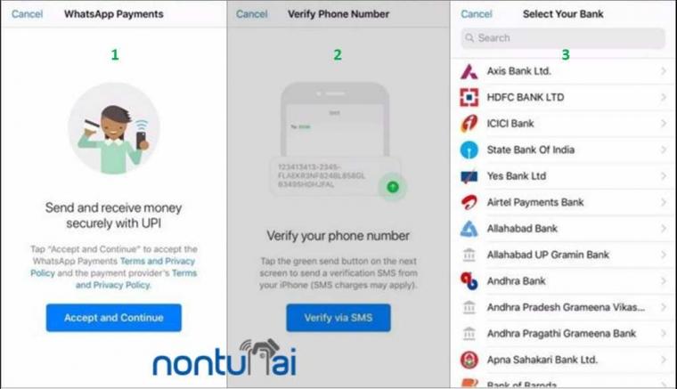 "WhatsApp Mulai Uji Coba ""WhatsApp Payment"" di India"